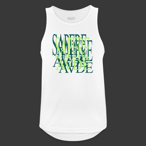 SAPERE AUDE - Men's Breathable Tank Top