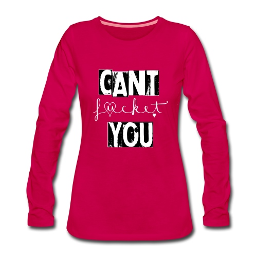 Fucket pink - Frauen Premium Langarmshirt