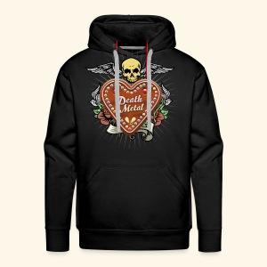 Lebkuchenherz Death Metal - Männer Premium Hoodie