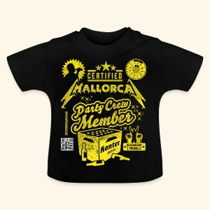 Mallorca Party Crew Member - Baby T-Shirt