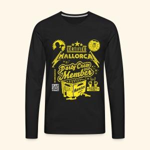 Mallorca Party Crew Member - Männer Premium Langarmshirt