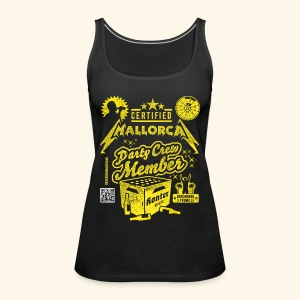 Mallorca Party Crew Member - Frauen Premium Tank Top