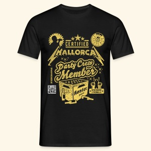 Mallorca Party Crew Member - Männer T-Shirt