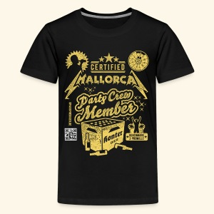 Mallorca Party Crew Member - Teenager Premium T-Shirt