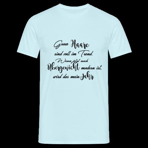Graue Haare - 2017 - Männer T-Shirt