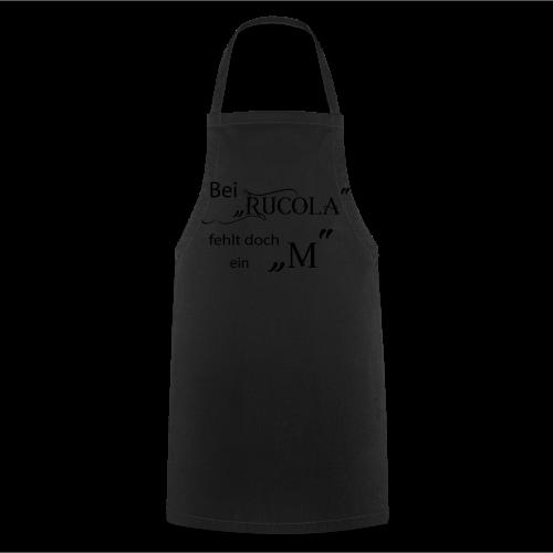 Bei Rucola fehlt doch ein M - 2017 - Kochschürze