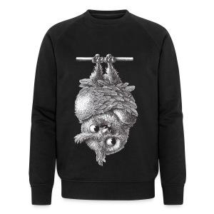 Vampireule - Männer Bio-Sweatshirt von Stanley & Stella