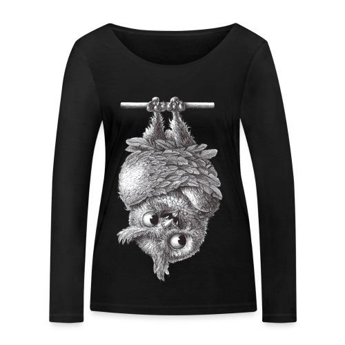 Vampireule - Frauen Bio-Langarmshirt von Stanley & Stella