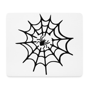 Men's T-shirt Spider Web - Mouse Pad (horizontal)