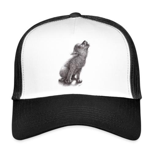 Junger heulender Wolf  T-shirt - Trucker Cap