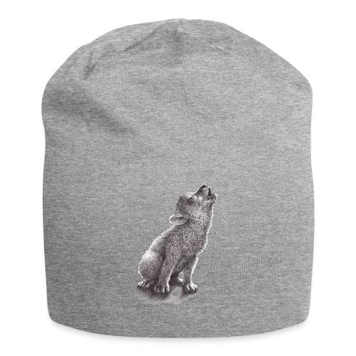 Junger heulender Wolf  T-shirt - Jersey-Beanie