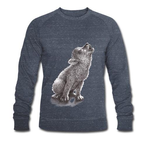 Junger heulender Wolf  T-shirt - Männer Bio-Sweatshirt von Stanley & Stella