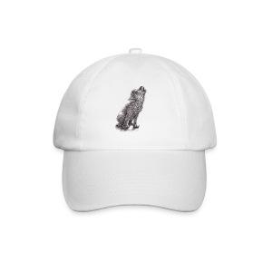 Junger heulender Wolf  T-shirt - Baseballkappe