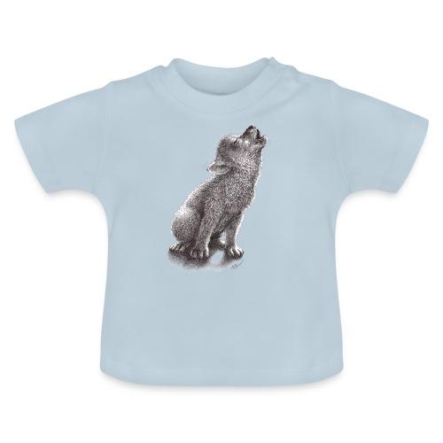 Junger heulender Wolf  T-shirt - Baby T-Shirt