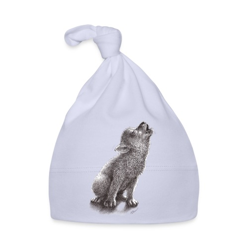 Junger heulender Wolf  T-shirt - Baby Mütze