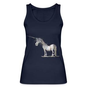 Einhorn t-shirt, Das allerletzte Einhorn - Frauen Bio Tank Top von Stanley & Stella