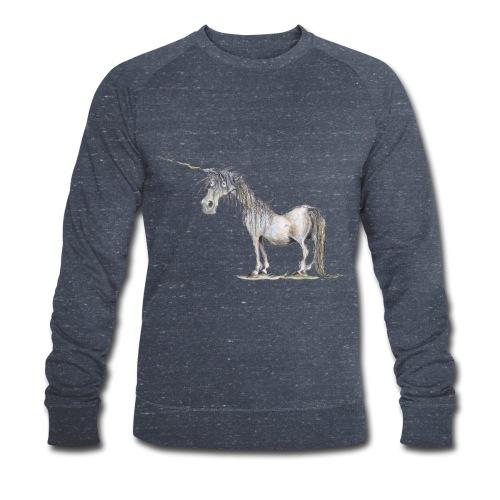 Einhorn t-shirt, Das allerletzte Einhorn - Männer Bio-Sweatshirt von Stanley & Stella