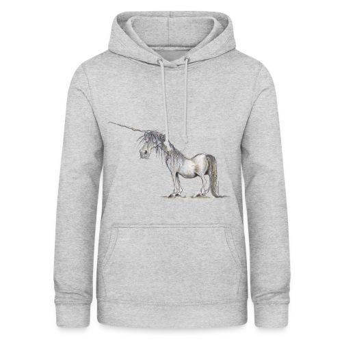 Einhorn t-shirt, Das allerletzte Einhorn - Frauen Hoodie