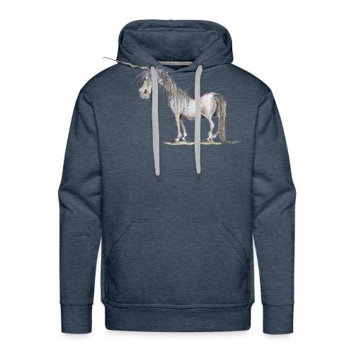 Einhorn t-shirt, Das allerletzte Einhorn - Männer Premium Hoodie