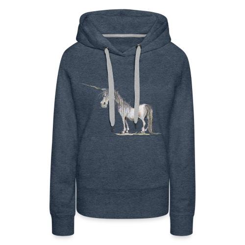 Einhorn t-shirt, Das allerletzte Einhorn - Frauen Premium Hoodie