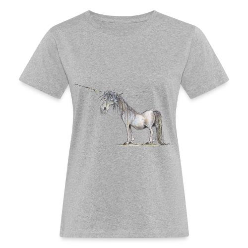 Einhorn t-shirt, Das allerletzte Einhorn - Frauen Bio-T-Shirt