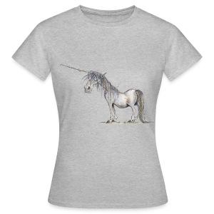 Einhorn t-shirt, Das allerletzte Einhorn - Frauen T-Shirt