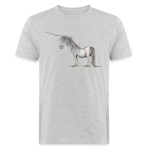 Einhorn t-shirt, Das allerletzte Einhorn - Männer Bio-T-Shirt