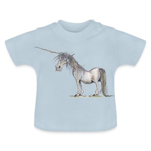 Einhorn t-shirt, Das allerletzte Einhorn - Baby T-Shirt