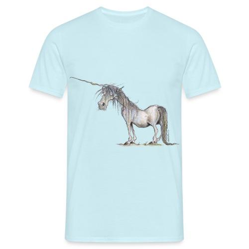 Einhorn t-shirt, Das allerletzte Einhorn - Männer T-Shirt