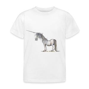 Einhorn t-shirt, Das allerletzte Einhorn - Kinder T-Shirt