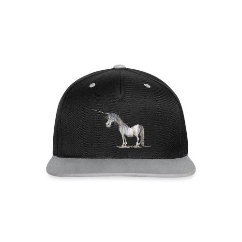 Einhorn t-shirt, Das allerletzte Einhorn - Kontrast Snapback Cap