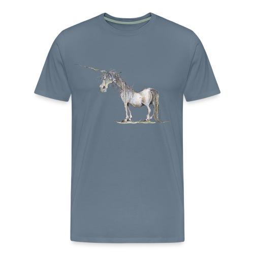 Einhorn t-shirt, Das allerletzte Einhorn - Männer Premium T-Shirt