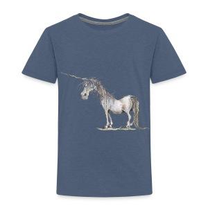 Einhorn t-shirt, Das allerletzte Einhorn - Kinder Premium T-Shirt