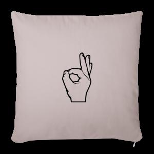 The Circle Game - Sofa pillow cover 44 x 44 cm