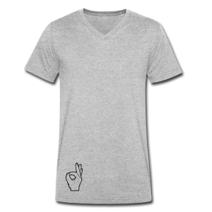 The Circle Game - Men's Organic V-Neck T-Shirt by Stanley & Stella