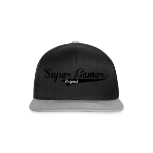 Super Gamer (White) - Snapback Cap