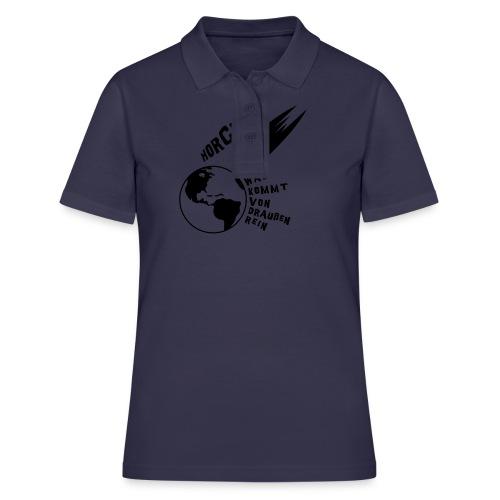 2012 - Horch was kommt von draußen rein - Frauen Polo Shirt