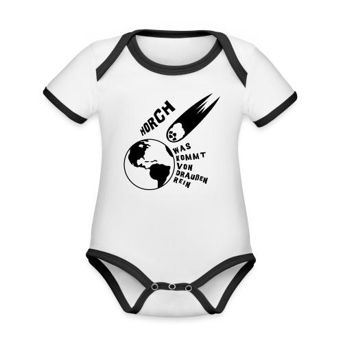 2012 - Horch was kommt von draußen rein - Baby Bio-Kurzarm-Kontrastbody