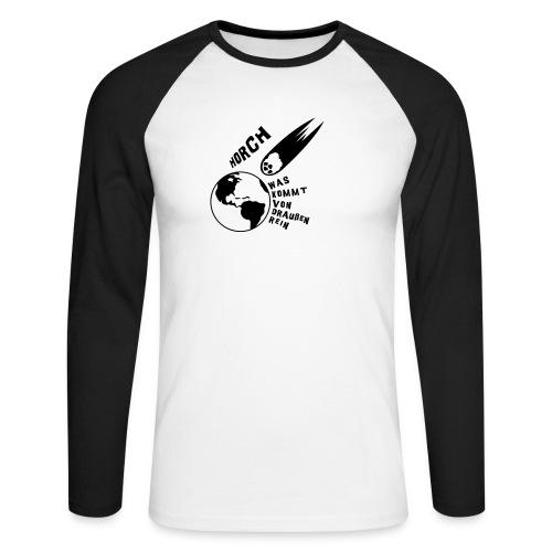 2012 - Horch was kommt von draußen rein - Männer Baseballshirt langarm