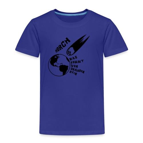 2012 - Horch was kommt von draußen rein - Kinder Premium T-Shirt