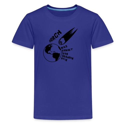 2012 - Horch was kommt von draußen rein - Teenager Premium T-Shirt