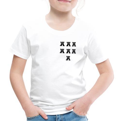 Sieben Burgen der Siebenbürger Sachsen - Siebenbürgen - Transylvania - Erdely - Ardeal - Transilvania - Romania - Rumänien - Kinder Premium T-Shirt