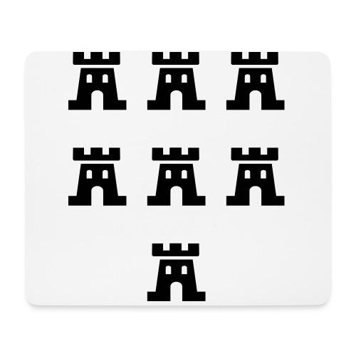 Sieben Burgen der Siebenbürger Sachsen - Siebenbürgen - Transylvania - Erdely - Ardeal - Transilvania - Romania - Rumänien - Mousepad (Querformat)