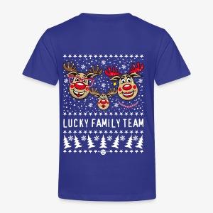 LUCKY FAMILY TEAM Papa Mama 1 Kind Hoodie 93 - Kinder Premium T-Shirt