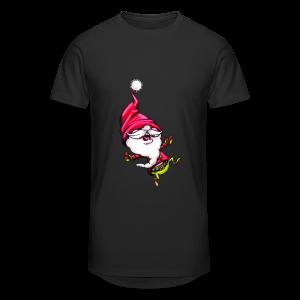 cloth bag santa claus - Männer Urban Longshirt