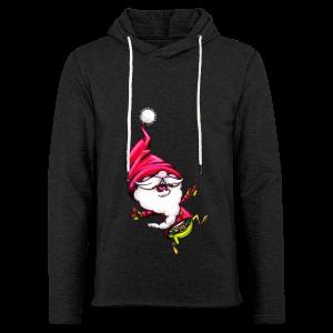 cloth bag santa claus - Leichtes Kapuzensweatshirt Unisex
