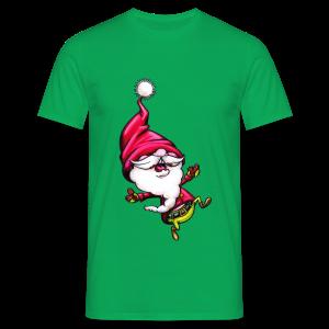 cloth bag santa claus - Männer T-Shirt