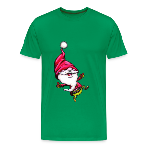 cloth bag santa claus - Männer Premium T-Shirt