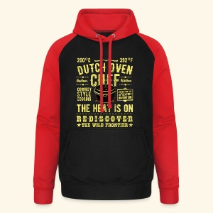 Dutch Oven Chef - Unisex Baseball Hoodie