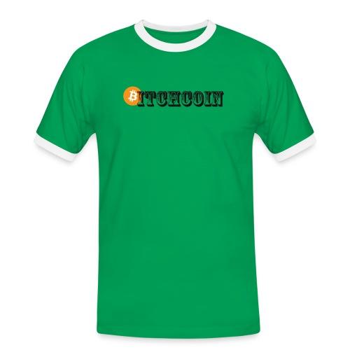 Bitchcoin T-Shirts - Men's Ringer Shirt
